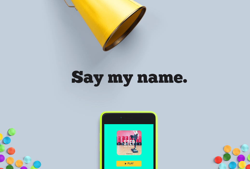 Say my name. Dare un nome alla tua attività