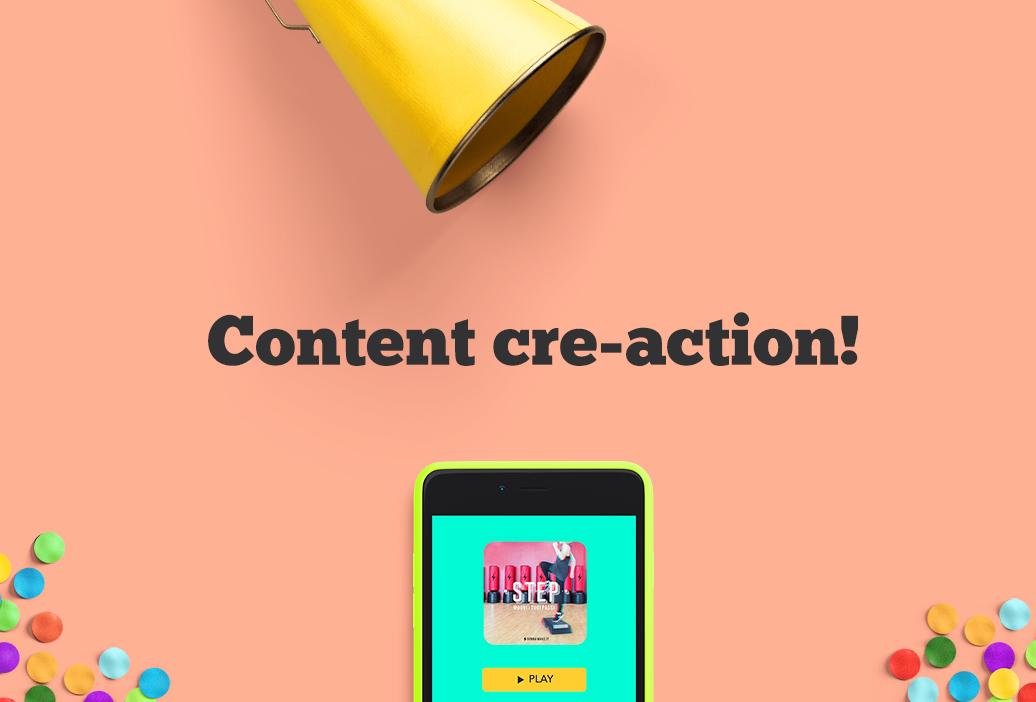 Content Creation: creazione, azione, reazione.