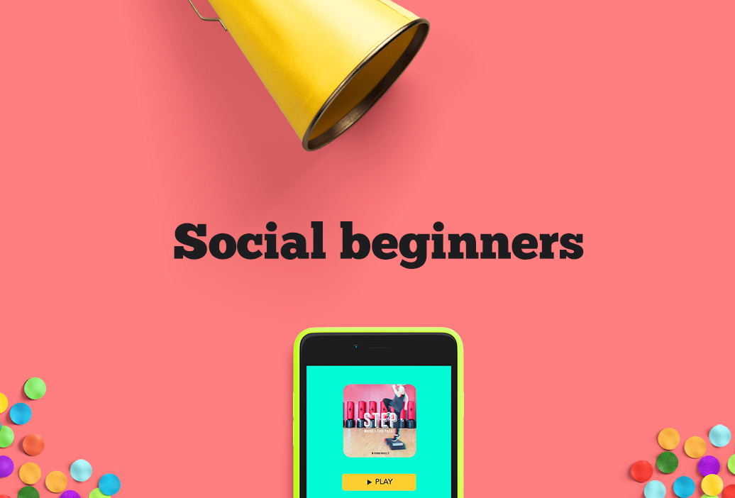 Social beginners. Il mindset