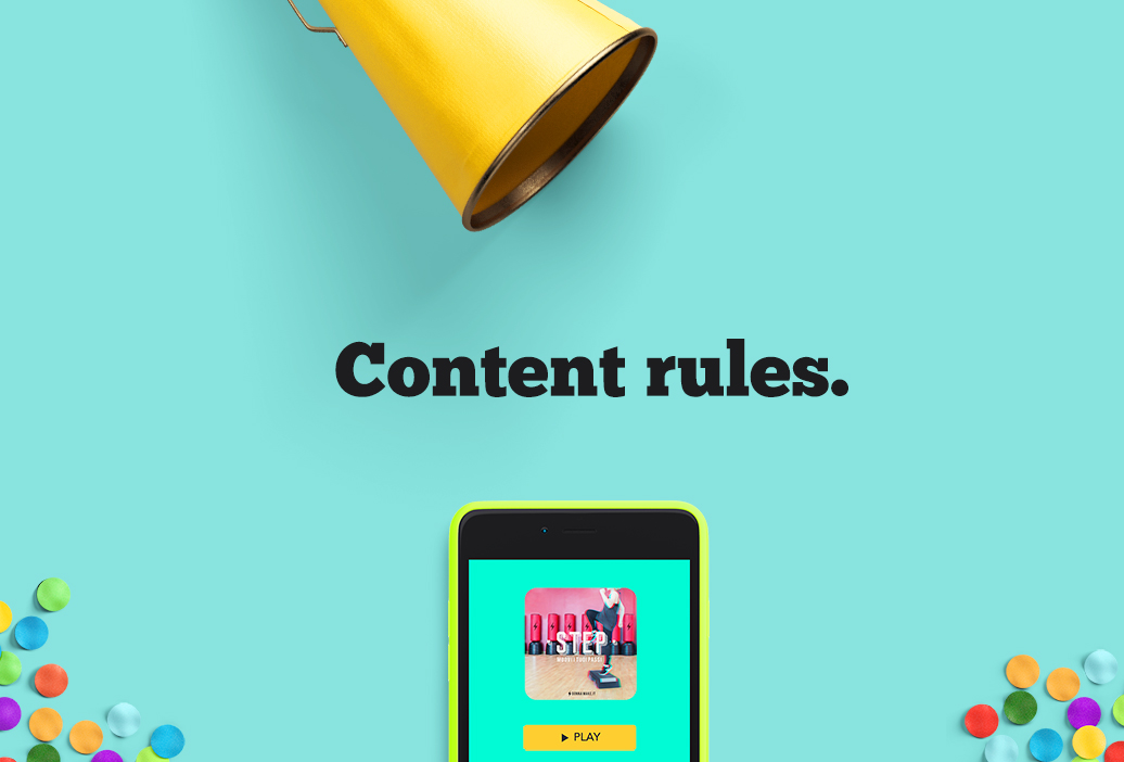 Content is king. Di cosa parla il tuo brand?
