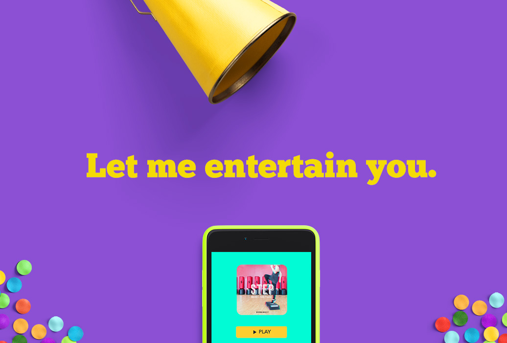 Let me entertain you. Lo storybranding