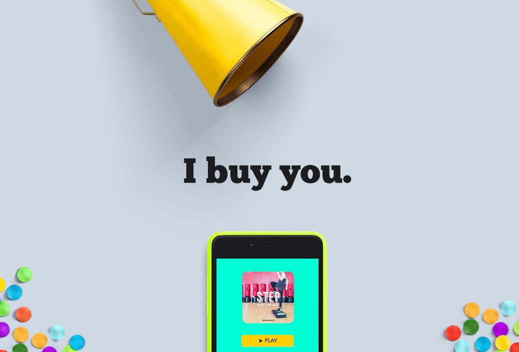 I buy you. Dalla conoscenza alla conversione